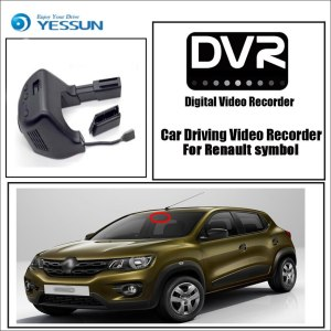 YESSUN for Renault symbol Car Driving Video Recorder DVR Mini Control APP Wifi Camera FHD 1080P Registrator Dash Cam