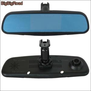 BigBigRoad For nissan murano Dual Lens Car DVR Blue Screen Video Recorder Dash Cam G-sensor Parking Monitor with special Bracket