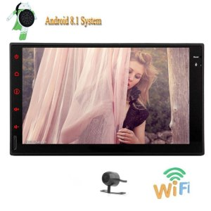 """7"""" Car Autoradio GPS navigation Supports WIFI 4G Dongle RDS SD/USB FM Transmitter Bluetooth Remote Control Videos Audio Player"""