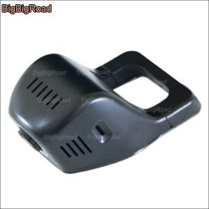 BigBigRoad For Nissan Qashqai 2012 Car wifi DVR Video Recorder Hidden installation Novatek 96655 Dash Cam G-sensor