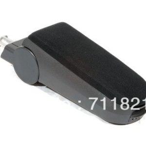 Center Console Armrest Velour Black For Audi A4 B5
