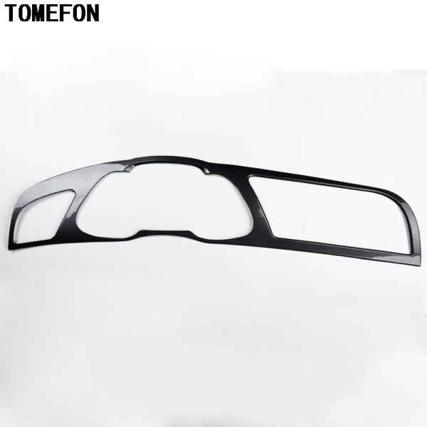 TOMEFON For Audi A4L A4 L 2013-2016 LHD ABS Plastic Interior Special Paint Front Air Vent Dashboard Frame Cover Decoration Trim
