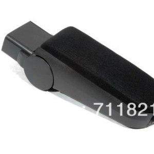 Center Console Armrest (Velour Top) For Volkswagen Jetta Bora / Golf MK4 / New Beetle Black Color