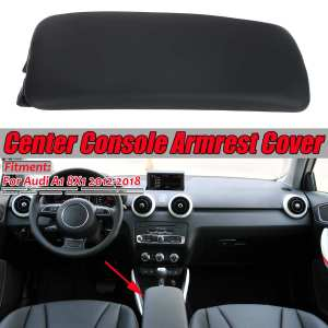New Car Center Console Armrest Cover Upper Part Armrests Cover Trim For Vehicle Cover Lid For Audi A1 8X1 2012-18 8X0864245BFH4