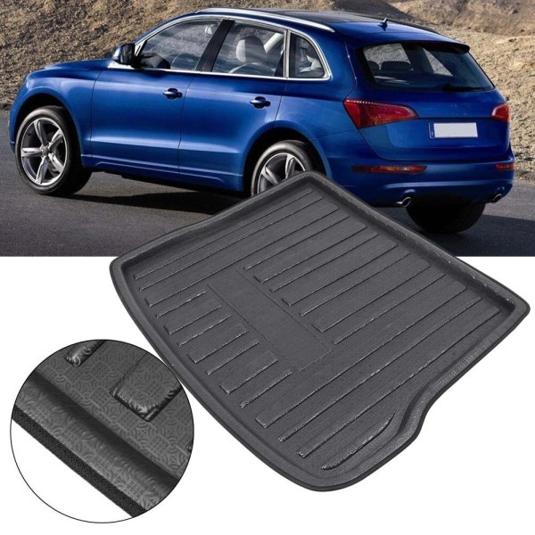 Auto Car Rear Trunk Tray Cargo Boot Mat Liner Floor Carpet Protector Cover For Audi Q5 2010 2011 2012 2013 2014 2015 2016