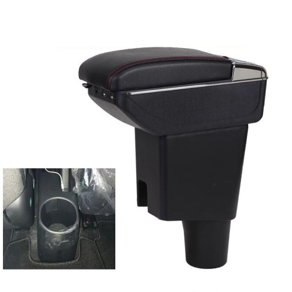 CITYCARAUTO Stowing Tidying INTERIOR CENTROL ARMREST BOX STORAGE FIT FOR KIA PICANTO CAR INTERIOR ARMREST BOXES