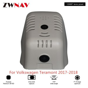 Hidden Type HD Driving recorder dedicated For Volkswagen Teramont 2017-2018 DVR Dash cam Car front camera WIfi