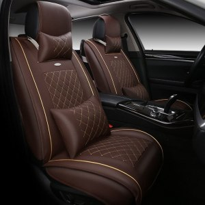High quality Leather Universal Car Seat Covers for Toyota Corolla Camry Interior Accessories Automobiles Seat Covers car-styling