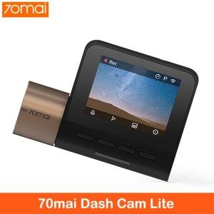 New 70mai Dash Cam Lite 1080P Speed Coordinates GPS Modules 70 MAI Lite Car Cam Recorder 24H Parking Monitor 70mai Lite Car DVR