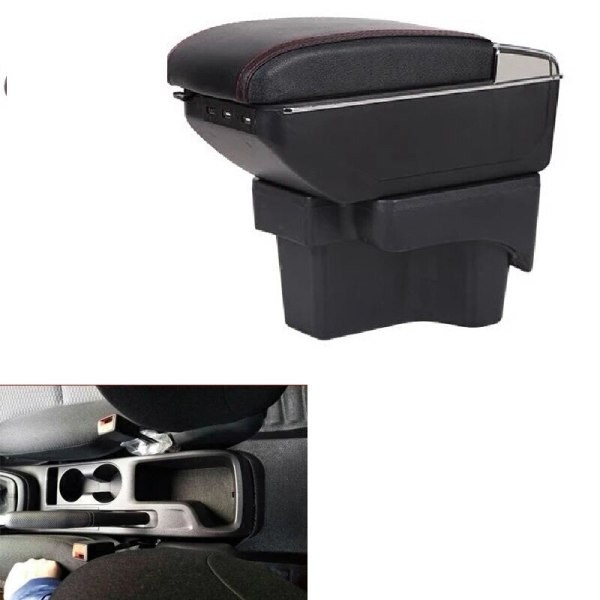 STOWING TIDYLING CAR STYLING MOULDING GLOVE BOXES CENTROL ARMREST STORAGE BOX BOXES FOR HYUDAI VERNA 2018 ARMREST STORAGE BOX