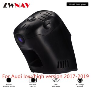 Hidden Type HD Driving recorder dedicated For 2017-2019 Audi low/high version (With Camera) DVR Dash cam Car front camera WIfi