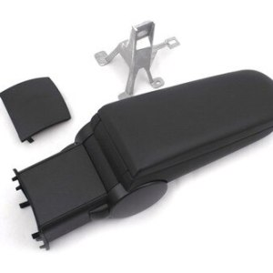 Center Console Armrest (Black Leather) for Polo 6R
