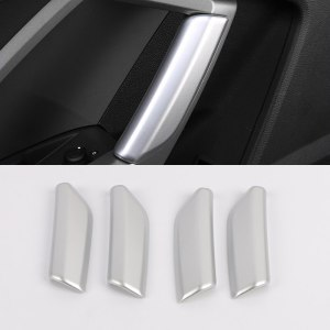 Car Styling Accessories 4PCS ABS Plastic Interior Armrest Handle Decorative Cover Trim For Audi Q3 2019 2020