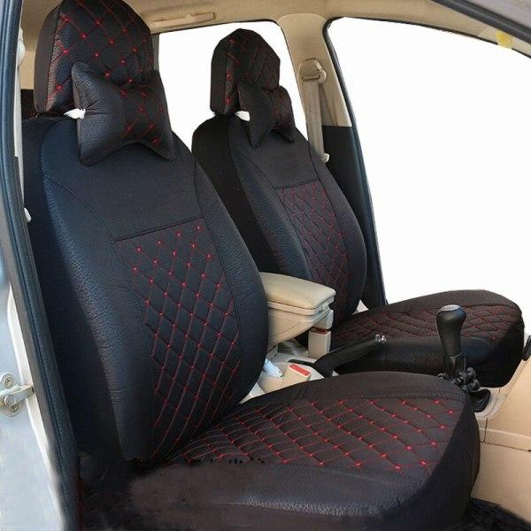 Carnong auto car seat cover universal set fabric interior accessory car-seat-cover four season protector 5 seat standard cover