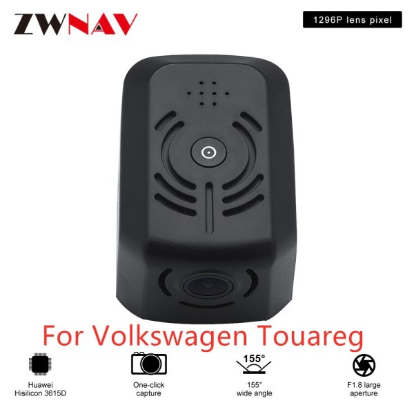 Hidden Type HD Driving recorder dedicated For Volkswagen Touareg DVR Dash cam Car front camera WIfi