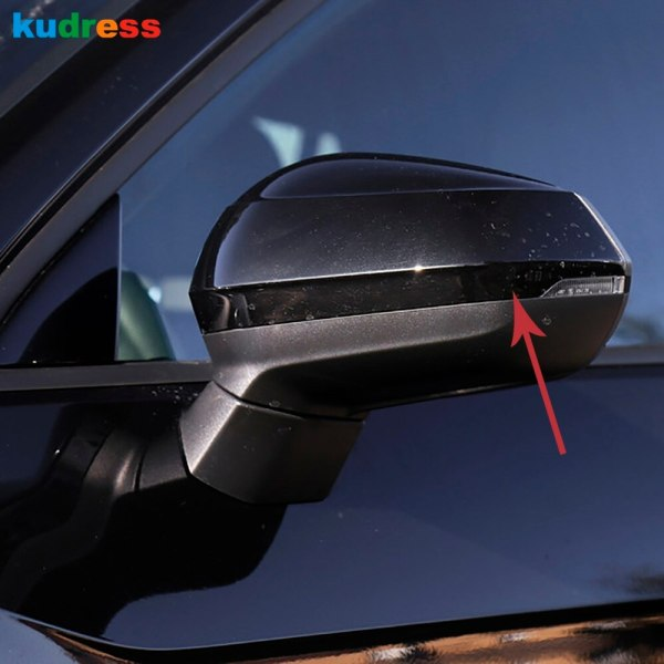 For Audi Q2 2017 2018 2019 abs matte plastic car styling exterior rear view Rearview Side glass Mirror Cover trim accessories
