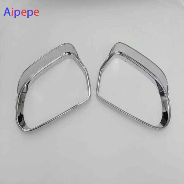 ABS Plastic Chrome For Audi Q3 2013 2014 2015 Car rearview mirror block rain eyebrow Cover Trim Molding Car Styling Accessories