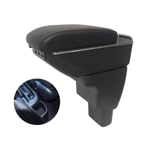 STOWING TIDYLING CAR STYLING MOULDING GLOVE BOXES CENTROL ARMREST STORAGE BOX BOXES FIT FOR HYUDAI I10 ARMREST BOX