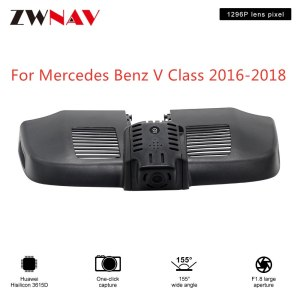 Hidden Type HD Driving recorder dedicated For Mercedes Benz V Class 2016-2018 DVR Dash cam Car front camera WIfi