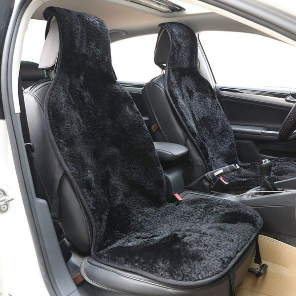 Sheep fur car seat cover 1 pcs real fur car interior accessories 1.6 wool height commonly used car styling fur car seat cover