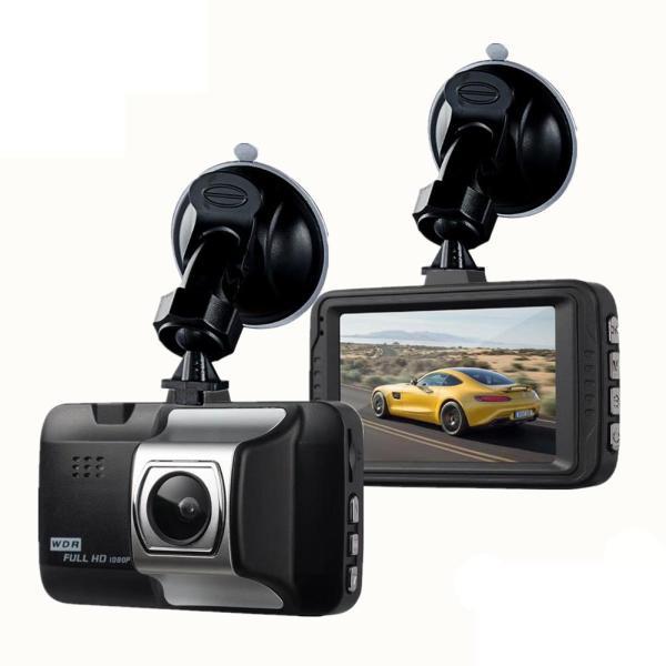 2019 New Dash Cam Car 1080P HD Car Driving Recorder,120 Wide Angle Dashboard Camera DVR Vehicle Dash G-Sensor ABS Plastic