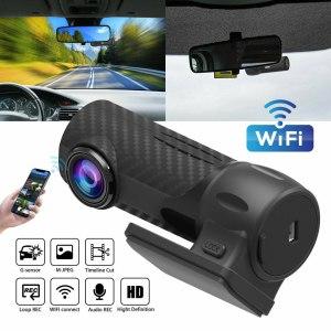 Car DVR Camera Dash Cam Auto 1080P HD Hidden Car Camera DVR Dash Cam Recorder with WiFi G-sensor Parking Mode