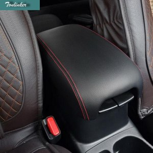 Tonlinker 1 PCS Car NEW ABS Two Style Modified Lengthened Center Armrest Cover Case Stickers for Mitsubishi ASX 2013-15