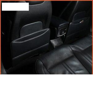 lsrtw2017 fiber leather car seat anti-kick mat for lincoln mkc 2014 2015 2016 2017 2018 2019 armrest anti-kick mat