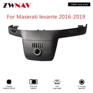 Hidden Type HD Driving recorder dedicated For Maserati levante 2016-2019 DVR Dash cam Car front camera WIfi