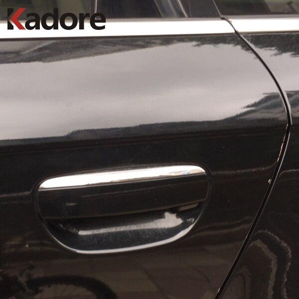 Audi A6 C6 2004-2011 ABS Plastic Door Handle Cover Trim Car Styling