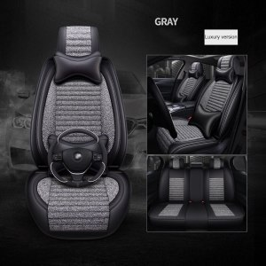 Universal car seat cover for renault armrest capture clio 4 duster fluence kadjar kaptur koleos of 2006 2005 car accessories