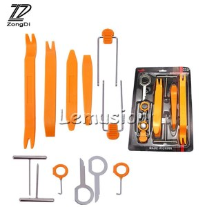 ZD 12Pcs Car Panel Pry Tool Styling for BMW F30 F10 E46 E39 E90 E60 X5 E53 Mercedes Benz W204 W211 Audi A5 A6 C5 C6 A4 B7 B8 Q5