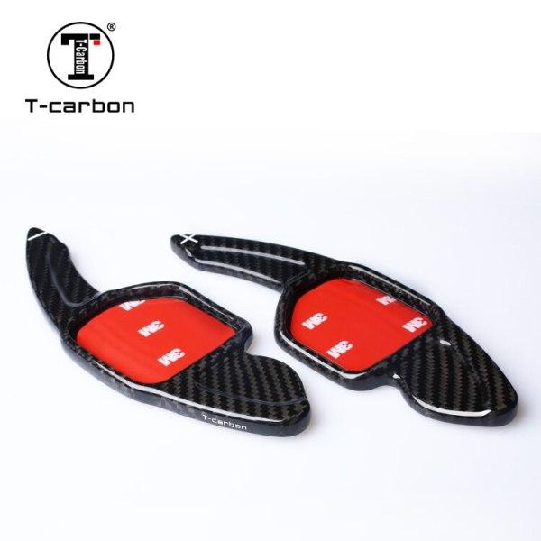 Carbon Fiber Steering Wheel Shift Paddles Paddle Extenesion For New Audi A3 A4L A5 A6L A7 A8 S5 S6 S7 S8 Q3 Q5 Q7 TT Car