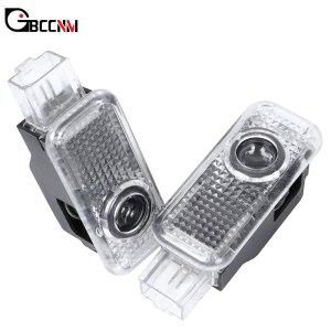 2X LED Car Door Logo Projector Light Welcome Lamp For AUDI A3 A4 B5 B6 B7 B8 A5 C5 A6 C6 C7 A7 A8 Q3 Q5 Q7 A1 80 V8 8V 8L R8 TT