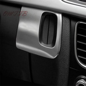 HOT Stainless steel interior car keyhole decorative cover trim S Sline emblem accessories For AUDI A4 B8 A5 8T S5 2008 - 2015