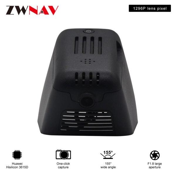 car DVR recorder for Velar/Jaguar E-PACE/Jaguar XJL 17-19 original dedicated Hidden Type Registrator Dash Cam Camera WiFi 1080P
