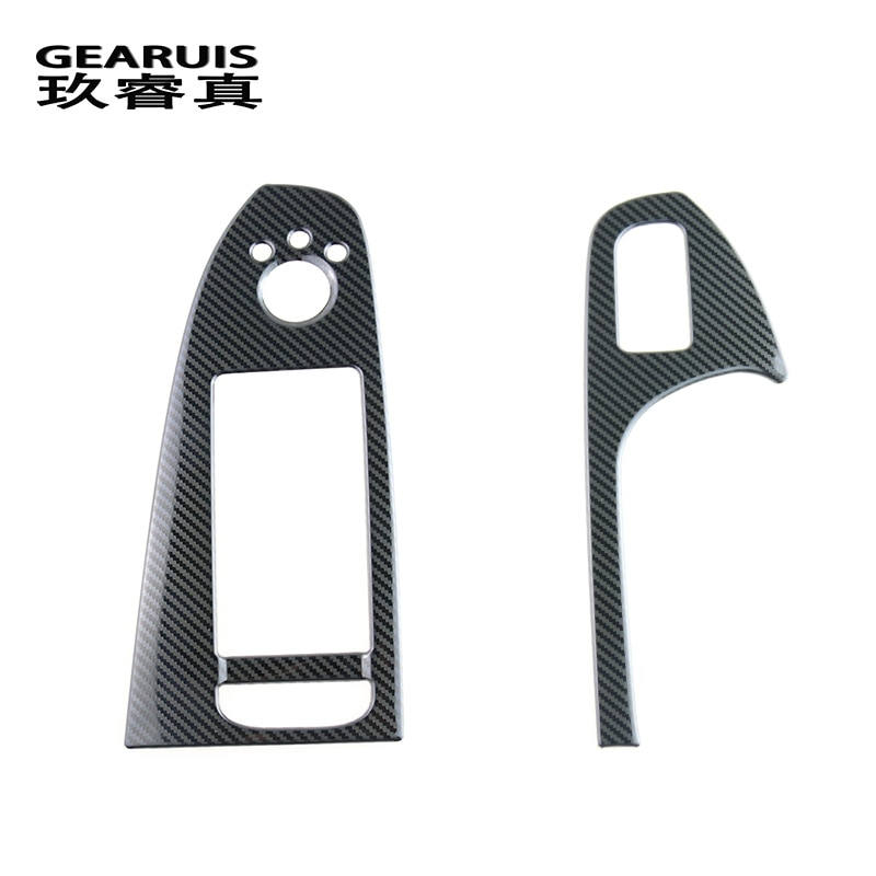 Door Armrest panel covers Stickers for Audi A4 B8 A5