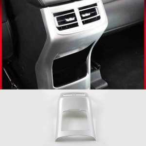 Changan Cs75 Car Rear Armrest Anti-kick Panel Trims Protective Interior Accessories 2018 2019 2020 Carbon Fiber