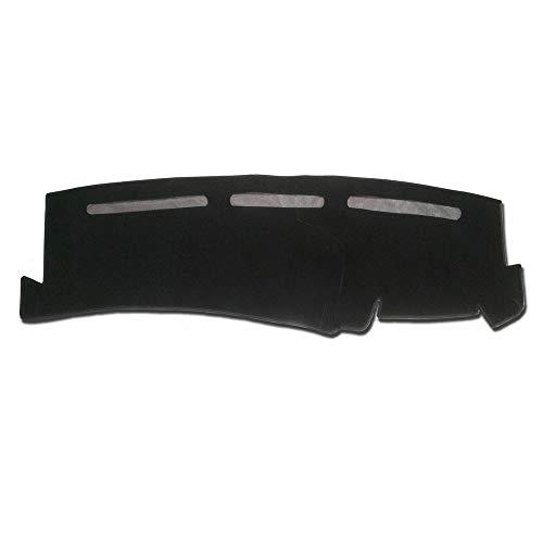 Hex Autoparts Dash Cover Mat Dashboard Pad Black for Chevy Silverado 1500 2500 Tahoe 01-06