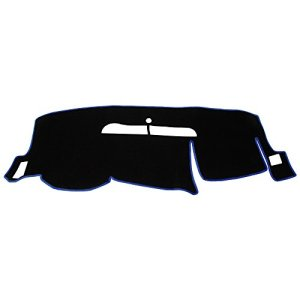 Hex Autoparts Dash Cover Mat Dashboard Pad for 2008-2013 Chevy Silverado LT HD WT 4x4 (Black)
