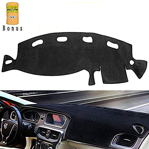 Big Ant Carpet Dashboard Cover for Dodge Ram 1500 2500 3500 1998-2001 Carpet Dash Mat,Custom Fit Dashboard Protector, Easy Installation