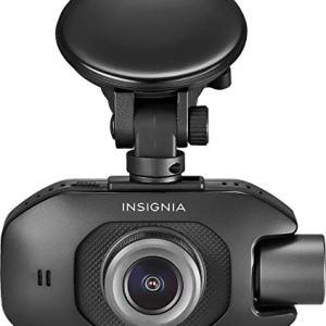 Insignia - Front and Rear Camera Dash Cam - Black