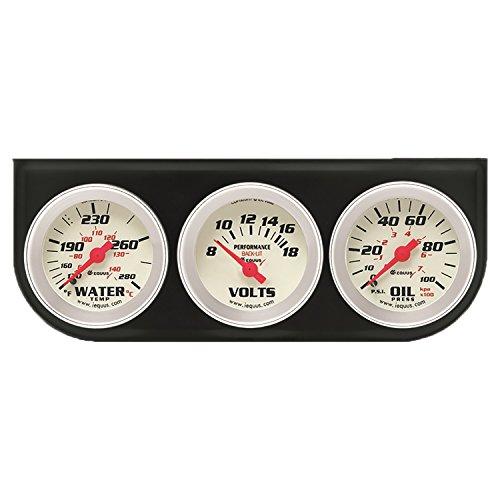 """Equus 8200 2"""" Volt Triple Gauge Kit"""