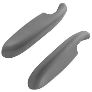 Door Armrest Gray Front Driver & Passenger Side Pair Set for Chevy GMC C/K Pickup Truck/Tahoe/Yukon/For Models With Manual Windows Only