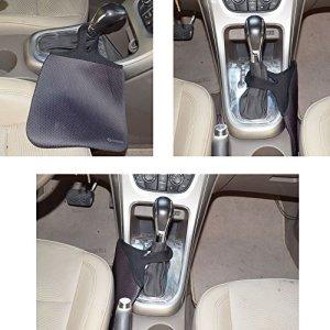 Case New Lightweight Neoprene Auto Trash Bag Sleeve Pouch/Litter Bag/Car Trash Keeper/Garbage Holder/Trash Liner Bag Case& Auto Organizer Storage Bag, Stick Shift Car Garbage Bin- Wave