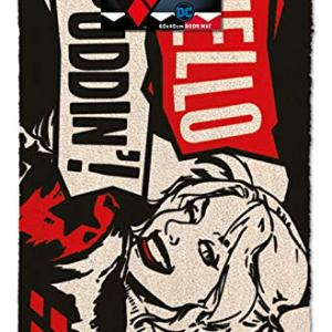 DC Comics Harley Quinn (Hello Puddin') Door mat