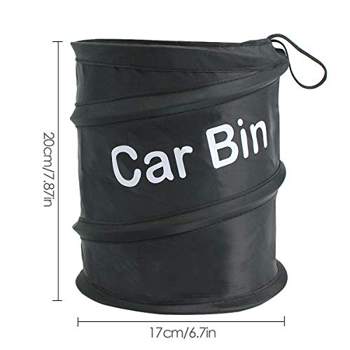 Trash Can Portable Outdoor Car Garbage GoldPaddy Car Trash Can Portable Outdoor Car Garbage Can Collapsible Pop-up Car Bin Waste Basket Bin Rubbish Bin(2 Pack)
