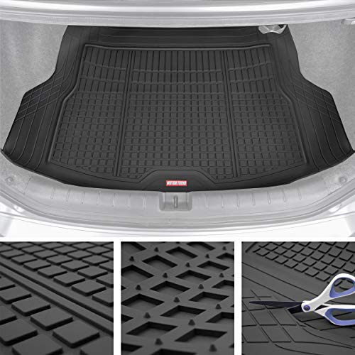Motor Trend Premium FlexTough All-Protection Cargo Mat Liner - w/Traction Grips & Fresh Design