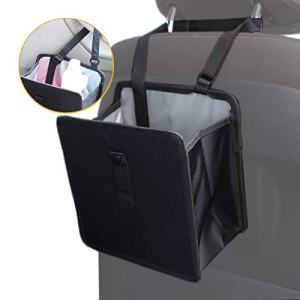 WildAuto Hanging Car Trash Can Leak Proof