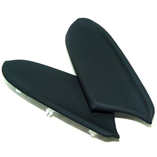 Ezzy Auto Black Armrest Vinyl Front Door Panels Armrest Lid for 2008-2012 Honda Accord